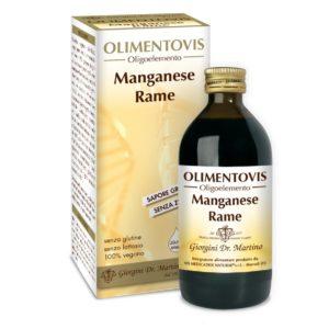 Manganese Rame Olimentovis 200ml Oligoelemento Mn-Cu
