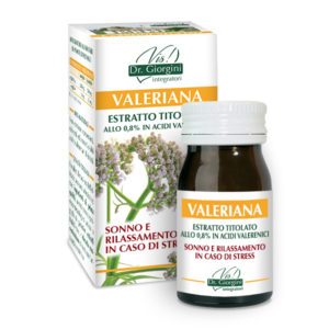 ESTRATTO TITOLATO VALERIANA 60 PASTIGLIE