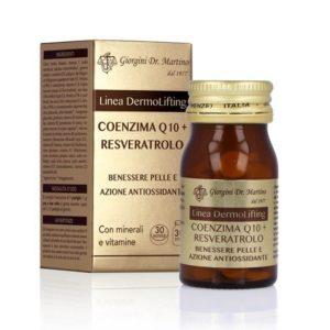 Coenzima Q10 + Resveratrolo 30 pastiglie