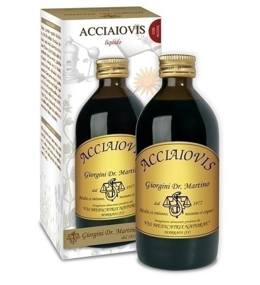 ACCIAIOVIS 200 ML DR. GIORGINI