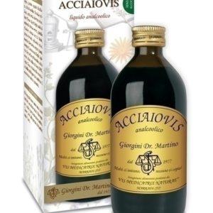 ACCIAIOVIS ANALCOLICO 200 ML DR. GIORGINI