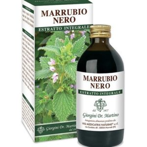 MARRUBIO NERO ESTRATTO INTEGRALE 200 ML