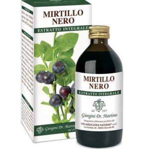 MIRTILLO NERO ESTRATTO INTEGRALE 200 ML