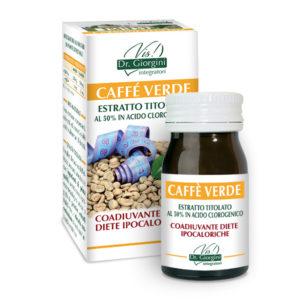 ESTRATTO TITOLATO CAFFE' VERDE 60 PASTIGLIE