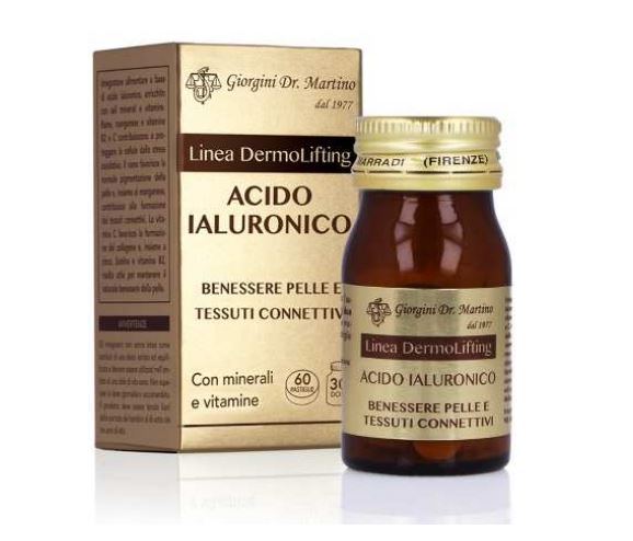 Acido Ialuronico 60 pastiglie Dr. Giorgini