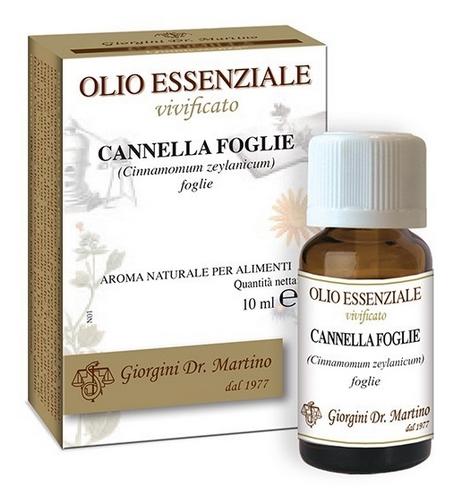 CANNELLA FOGLIE 10 ML OLIO ESSENZIALE VIVIFICATO