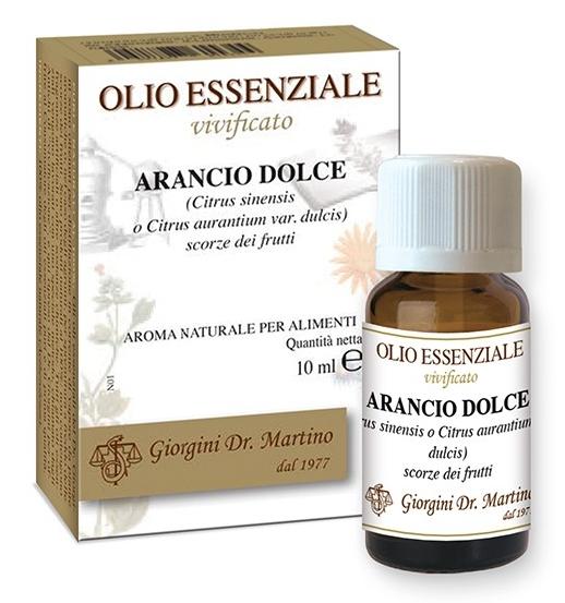 ARANCIO DOLCE 10 ML OLIO ESSENZIALE VIVIFICATO