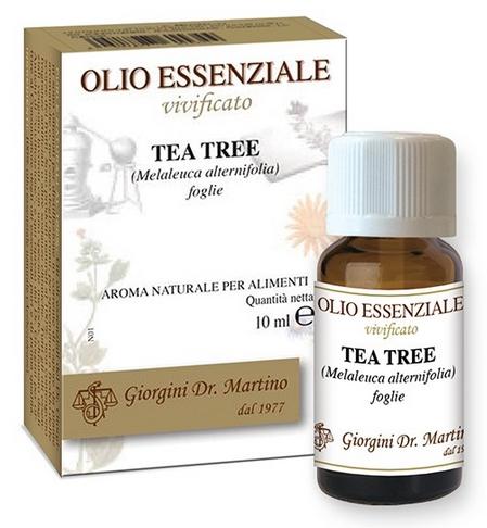 TEA TREE OIL 10 ML OLIO ESSENZIALE VIVIFICATO