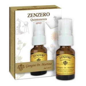 Zenzero Quintessenza 15ml Spray