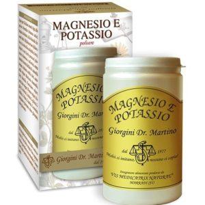 MAGNESIO E POTASSIO 180 GR POLVERE