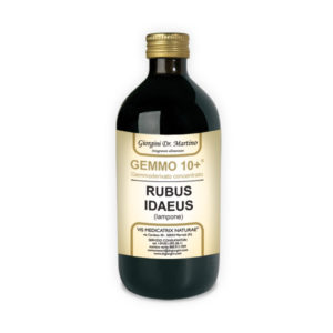 GEMMO 10+ LAMPONE 500 ML ANALCOLICO