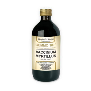 GEMMO 10+ MIRTILLO NERO 500 ML ANALCOLIC