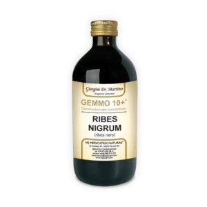 GEMMO 10+ RIBES NERO 500 ML ANALCOLICO